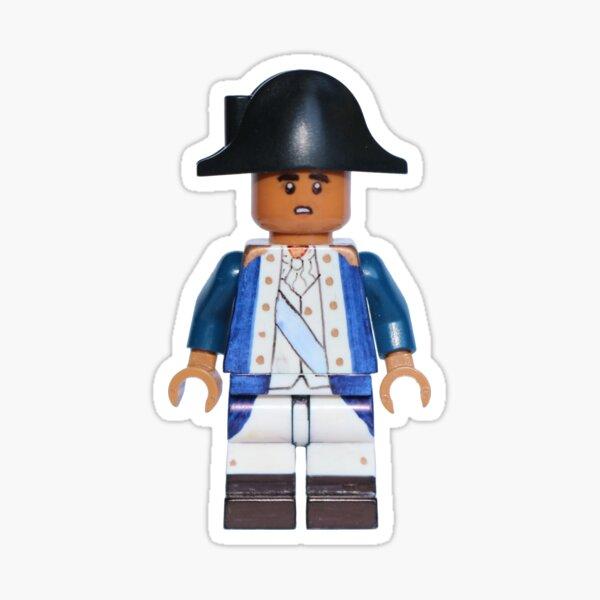 George Washington - Hamilton - Broadway Bricks Sticker