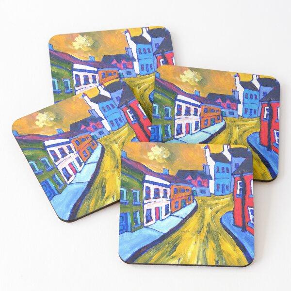 T-Junction (Eyeries, Beara, County Cork, Ireland) Coasters (Set of 4)