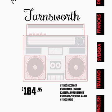 Farnsworth Radio by zekret