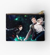 Amy and The Doctor in Space Studio Pouch