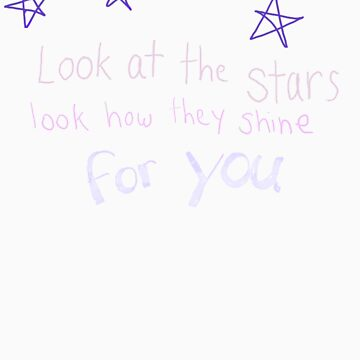 Look How They Shine For You by razzmatazzy