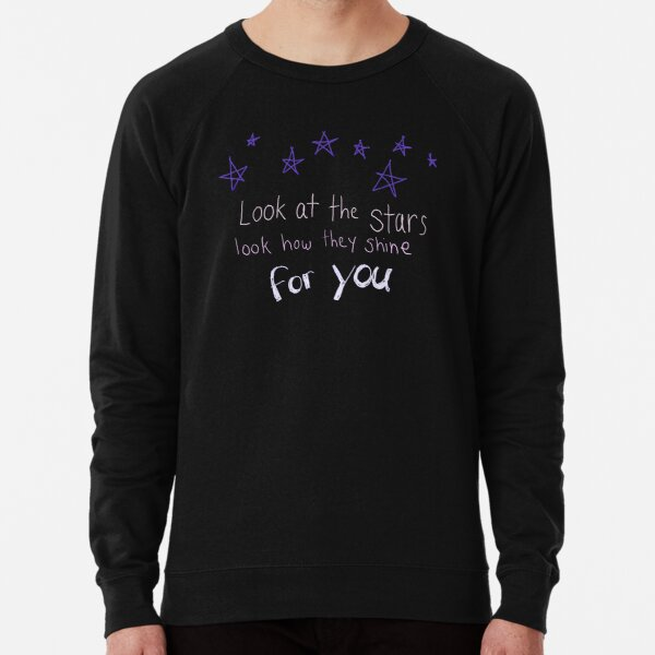Look How They Shine For You Lightweight Sweatshirt