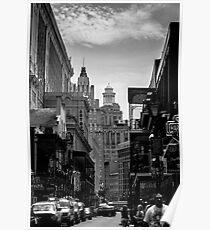 Rue Bourbon Poster