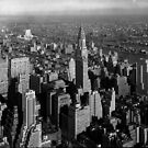 Chrysler Building and New York City by madeinatlantis