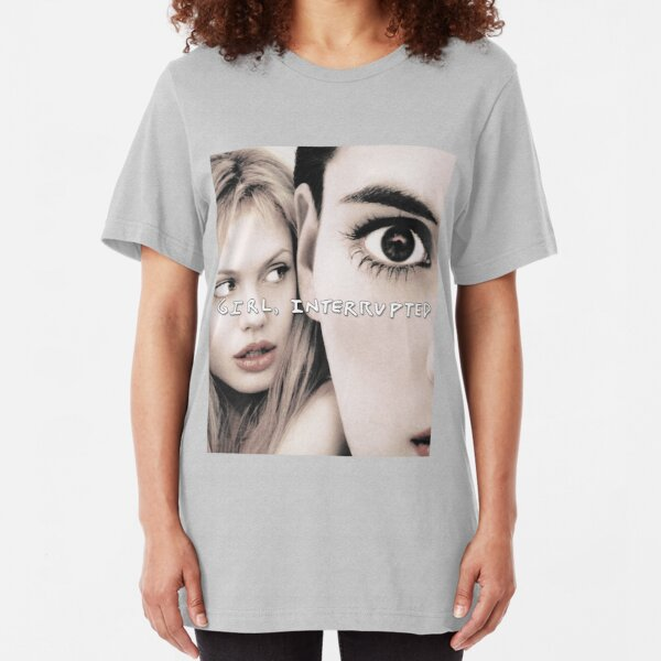 Girl Interrupted  Slim Fit T-Shirt