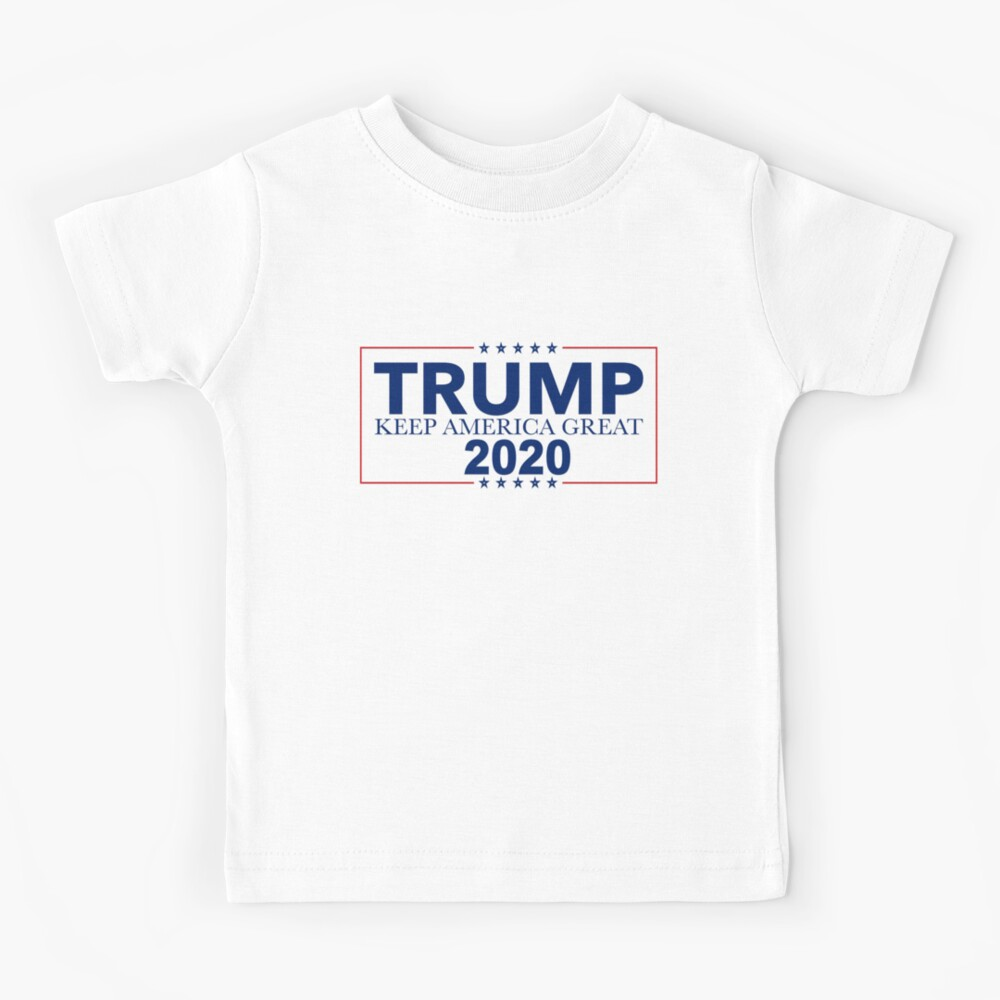 Donald Trump 2020 Toddler Tshirt Keep America Great