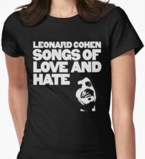 Leonard Cohen - Songs of Love and Hate Shirt Womens Fitted T-Shirt
