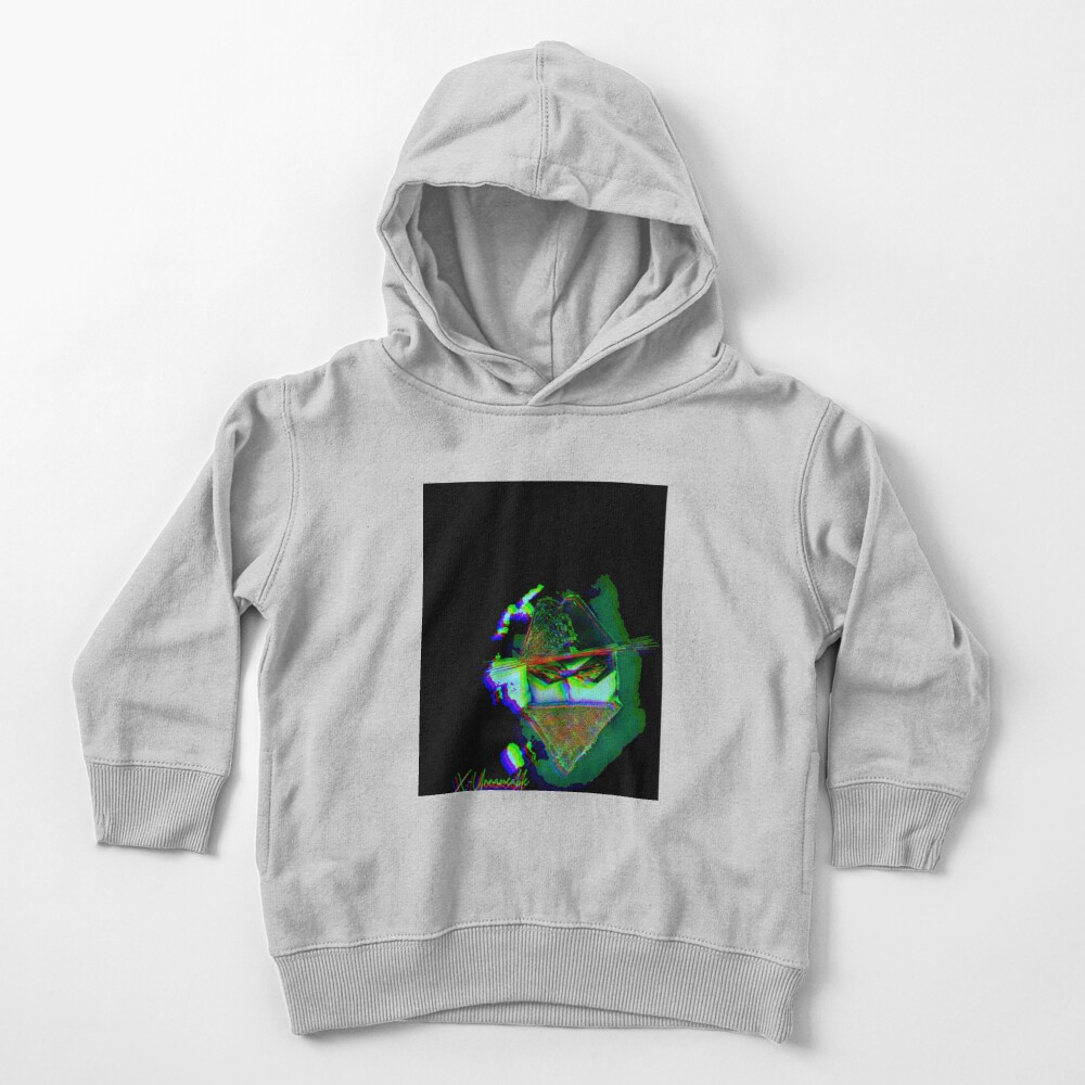 psychedelic zorro Toddler Pullover Hoodie