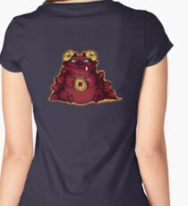 LuckDragon Hoody Women's Fitted Scoop T-Shirt