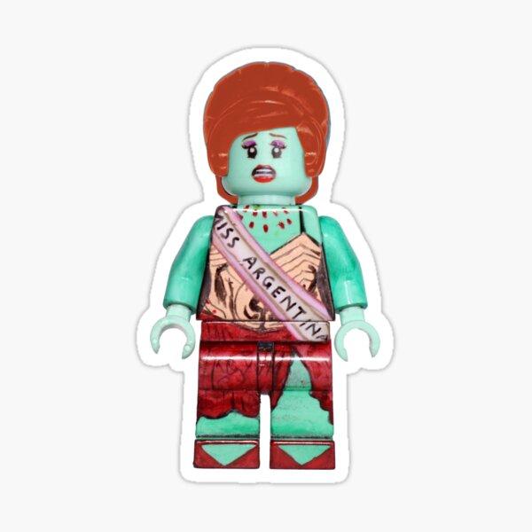 Ms. Argentina - Beetlejuice - Broadway Bricks Sticker
