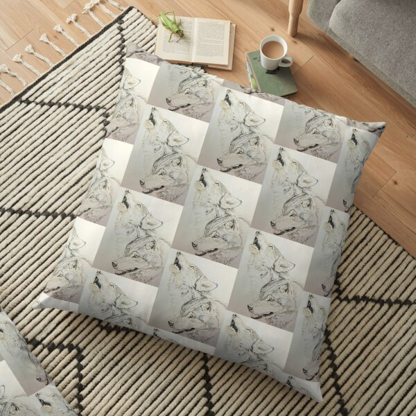 A voice of Nature Floor Pillow