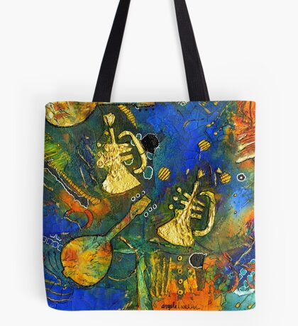 Horns and Other Things Tote Bag