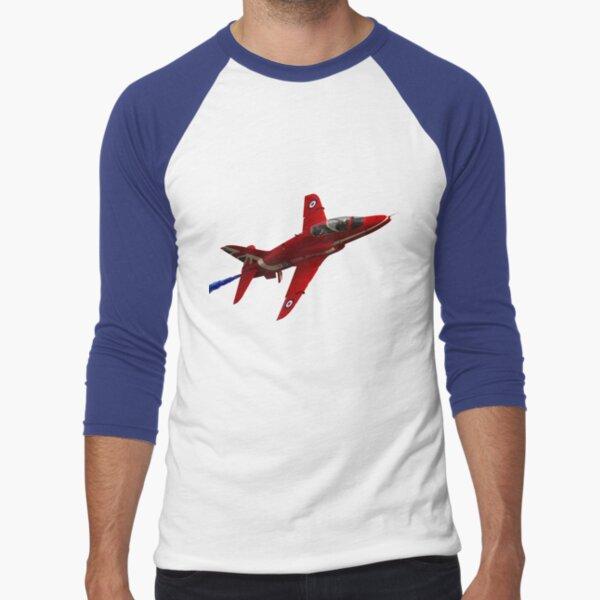 The RAF Red Arrows Display Team Baseball ¾ Sleeve T-Shirt