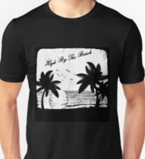 High By The Beach (Black & White) T-Shirt