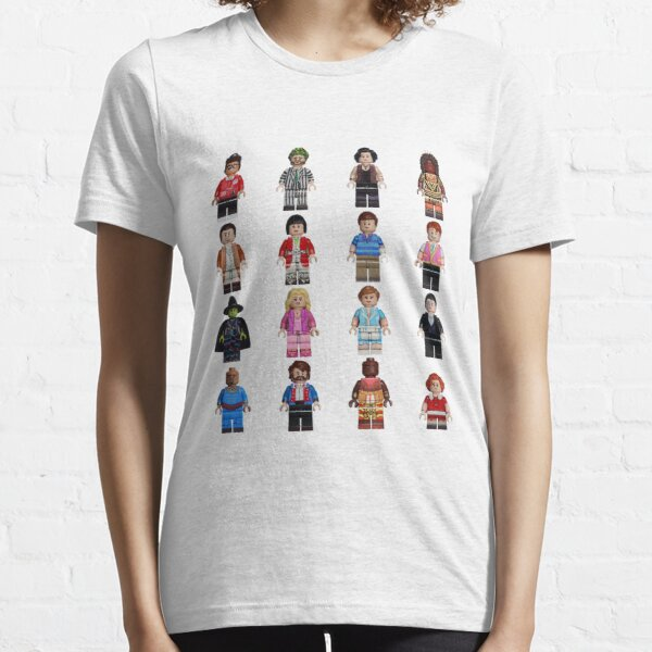 Broadway Bricks Characters Essential T-Shirt