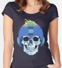 Mega Death [No Text] Women's Fitted Scoop T-Shirt