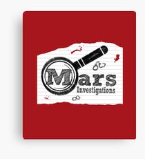 Mars Investigations Canvas Print