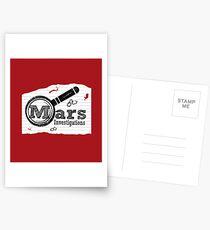 Mars Investigations Postcards