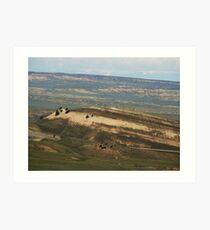 Landscape of Wyoming Art Print