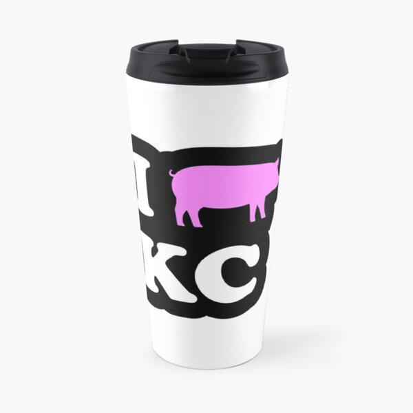 I Love Kansas City BBQ Travel Mug
