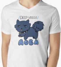 """Ren / DEEP VOICE / """"AOBA"""" Men's V-Neck T-Shirt"""