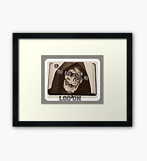 YOU CAN TRUST ME Framed Print