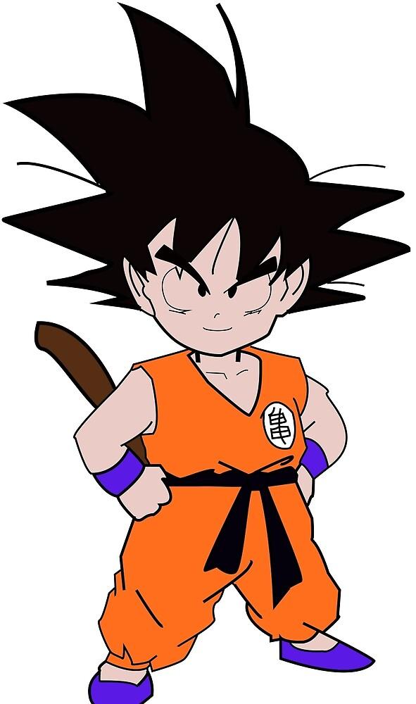 Kid Goku (Trace) by JosephCaleb