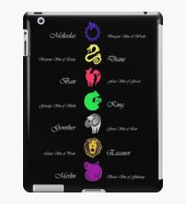 Seven Deadly Sins iPad Case/Skin
