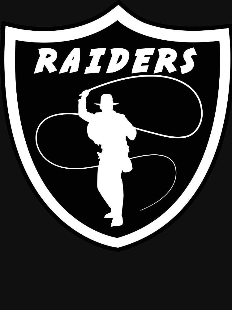 Indiana Jones Las Vegas Raiders by OrganicGraphic