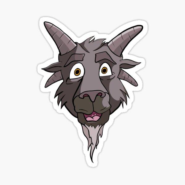 Cursed Goat Sticker
