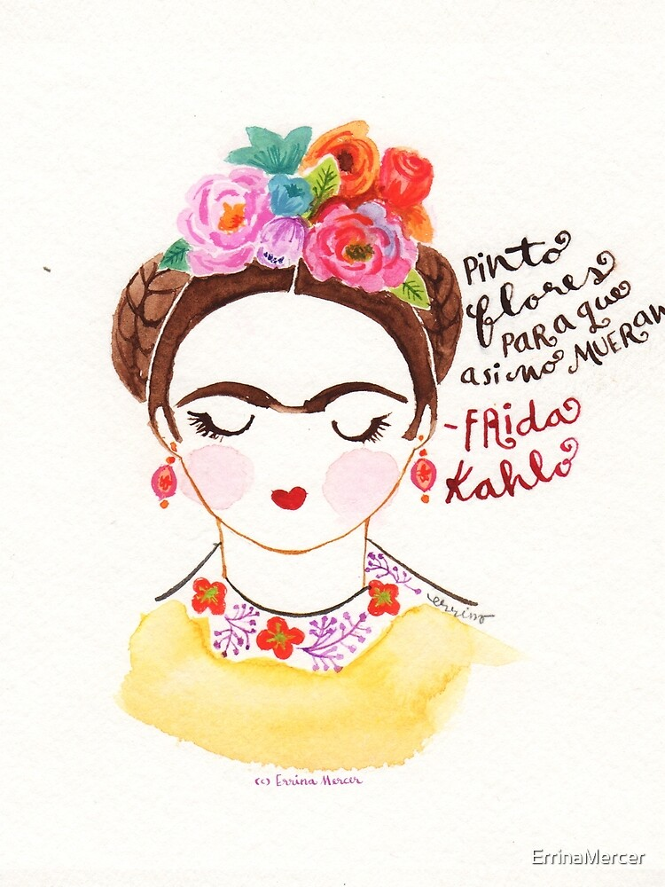 Ich male Blumen. von ErrinaMercer