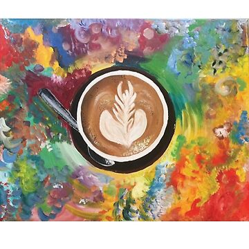 Coffee Cup Art by magbest