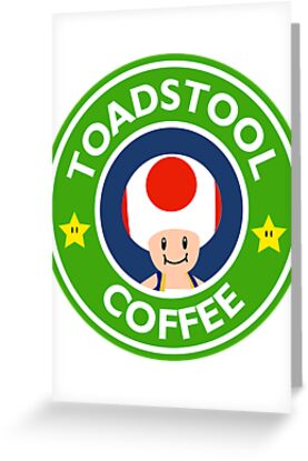 Toadstool Coffee - Themed by BraderzLamchops