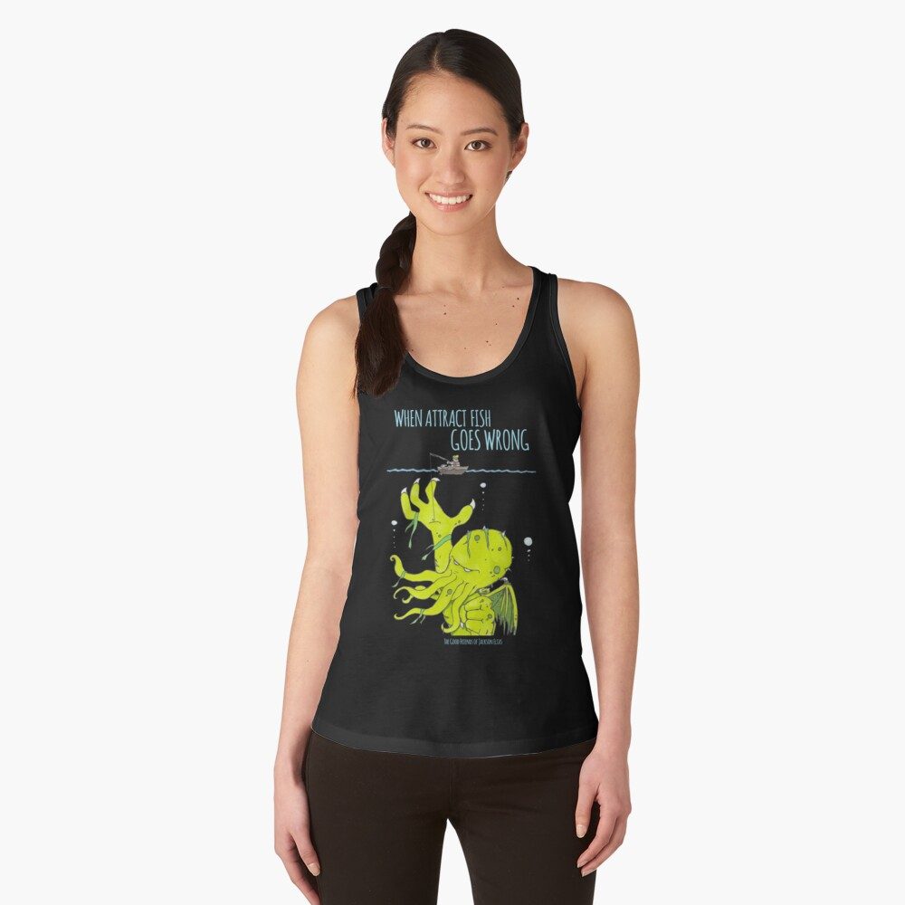 When Attract Fish Goes Wrong (2) Women's Tank Top Front