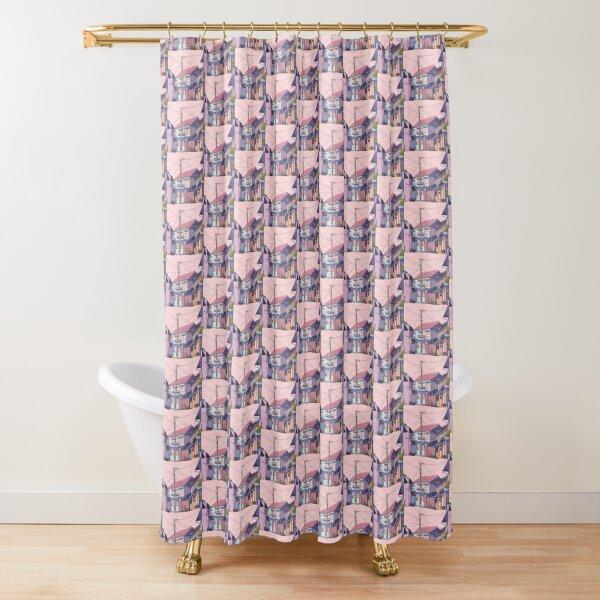 Lofi aesthetic Shower Curtain