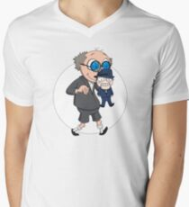 The Ventriloquist makes Scarface dance Mens V-Neck T-Shirt