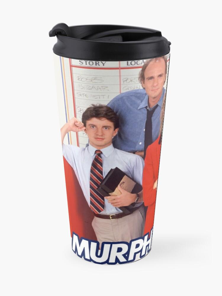 Alternate view of Murphy Brown - 90s TV show Travel Mug