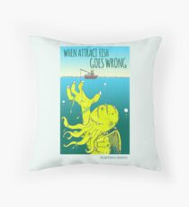 Attract Fish (3) Throw Pillow