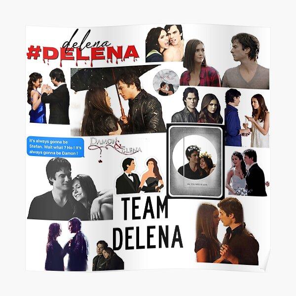 Team Delena Poster