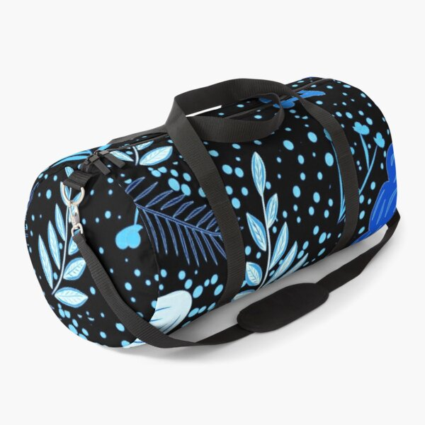 Iconic Floral print Black Ice Duffle Bag