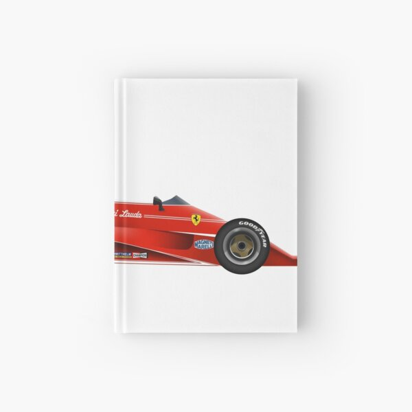 Niki Lauda - Ferrari 312 T Hardcover Journal