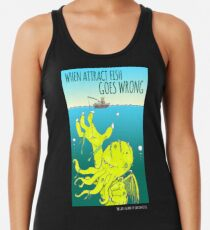 When Attract Fish Goes Wrong (4) Women's Tank Top