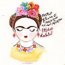 I Paint Flowers. by ErrinaMercer