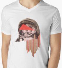 Gagarin Men's V-Neck T-Shirt