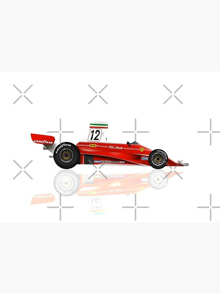 «Niki Lauda - Ferrari 312 T - 1975 - Conception 4» par andreanastasio