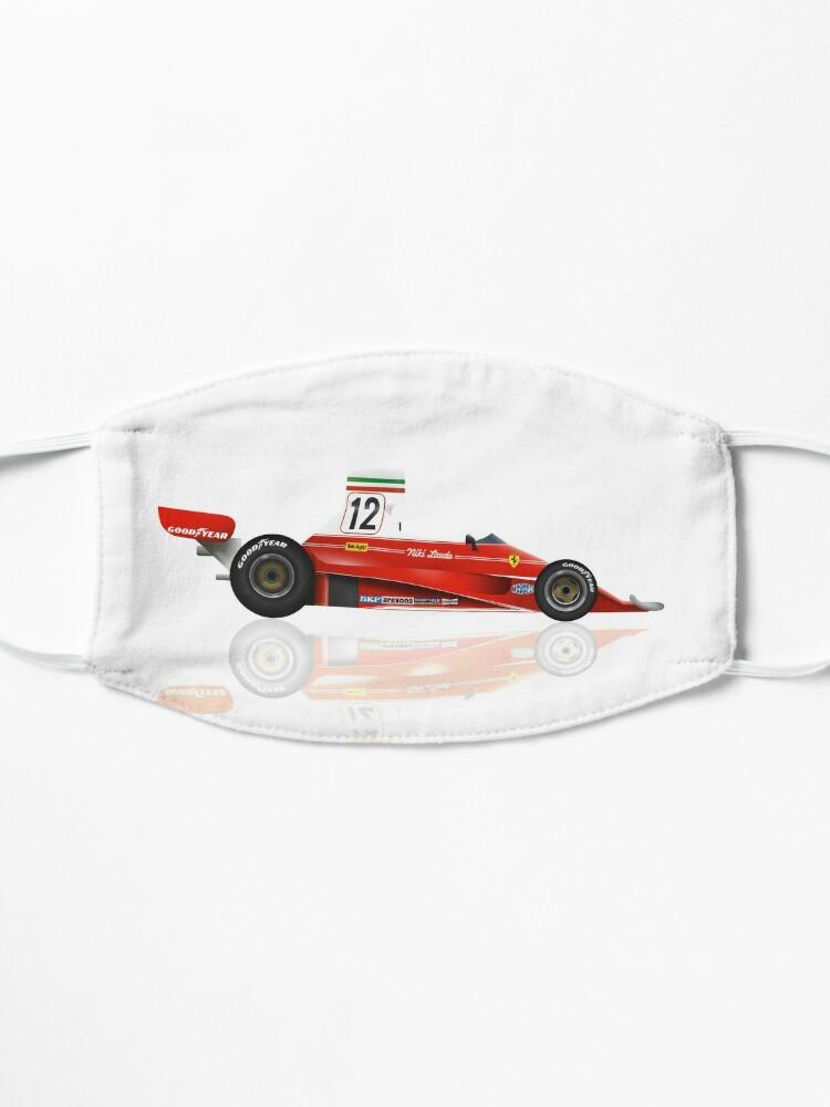 Masque ''Niki Lauda - Ferrari 312 T - 1975 - Conception 4': autre vue