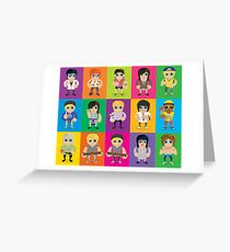 Lil' Lilley All Characters  Greeting Card