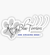 Kerry Blue Terrier - Amazing Dogs Sticker