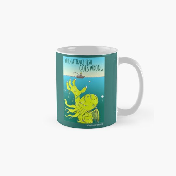 When Attract Fish Goes Wrong (4) Classic Mug