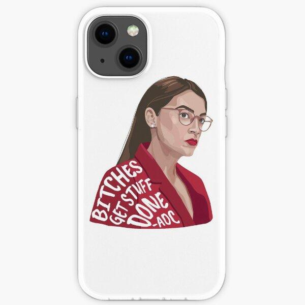 Bitches Get Stuff Done AOC iPhone Soft Case